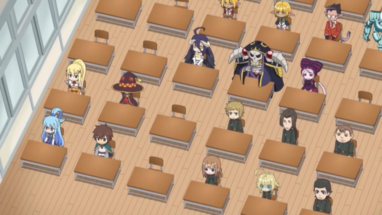 異世界カルテット なぜか教室に・・・