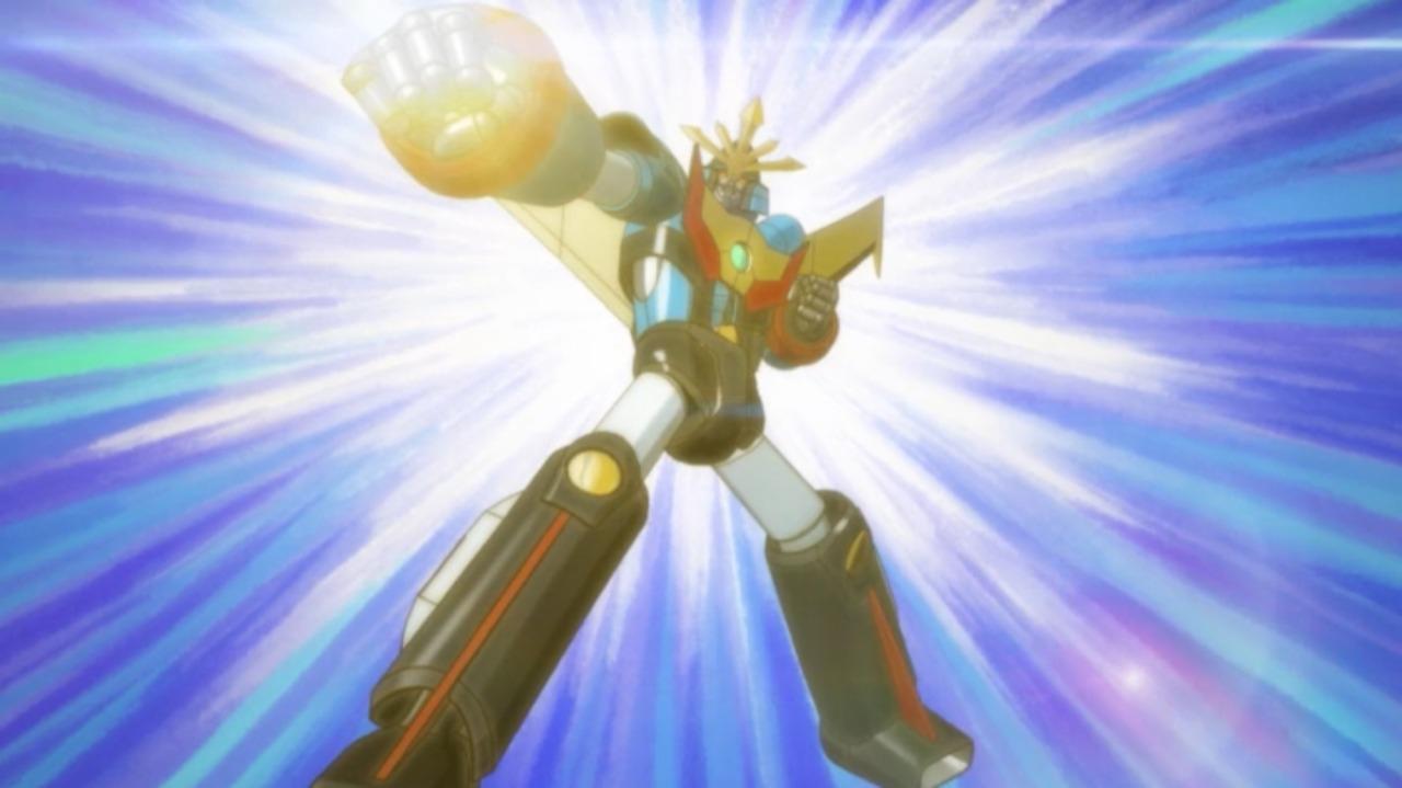合体ロボット「ヒザクリガー」