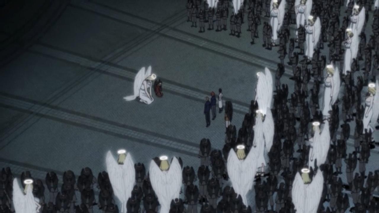 真夜中のオカルト公務員:大量の天狗と天使